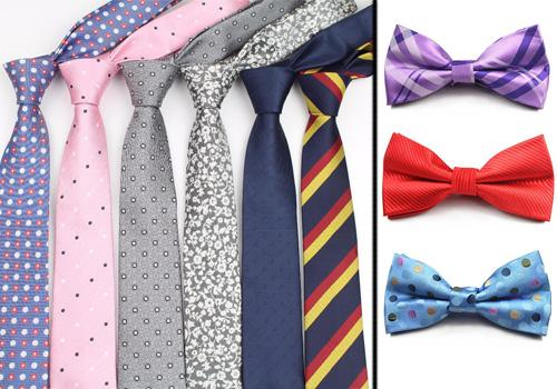 انواع کراوات و پاپیون | کدام یک بهتر است؟