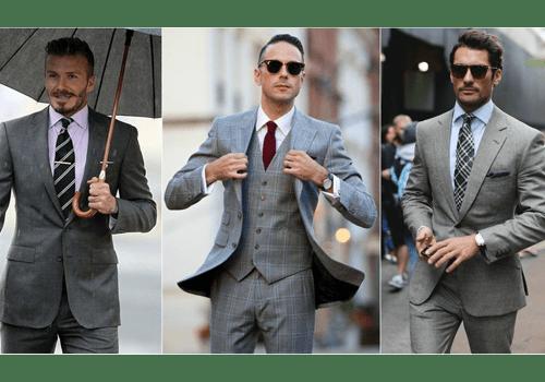 ست پیراهن سفید با کراوات