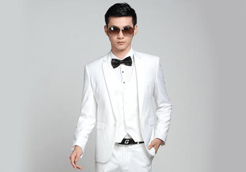 کت شلوار سفید دامادی