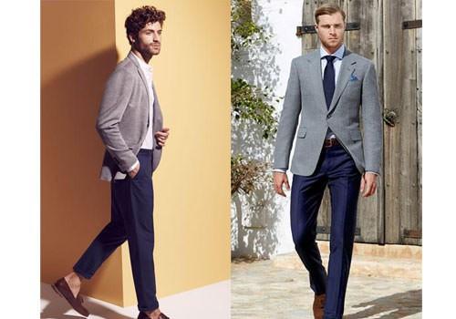 کت تک مردانه خاکستری