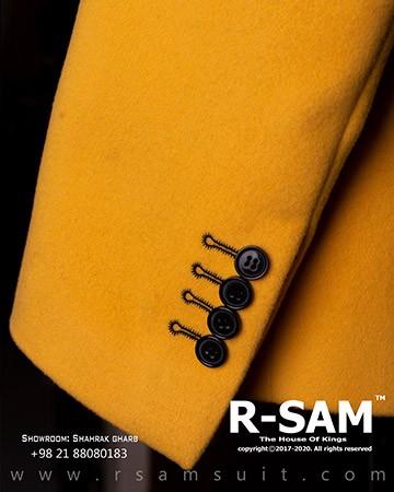 کت شلوار دابل برست یقه پهن بلیزر 6 دکمه جیب از رو 3 - سرای پادشاهان آرسام