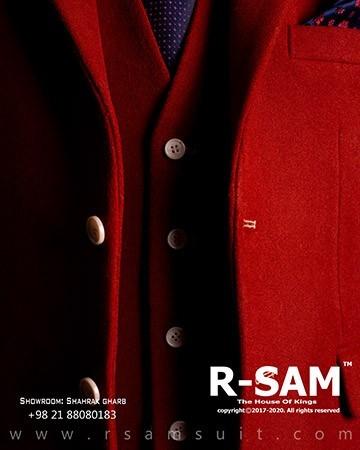کت تک سینگل برست دو دکمه یقه انگلیسی 1 - سرای پادشاهان آرسام