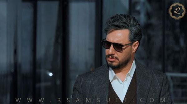 بررسی کت شلوار جواد عزتی در سریال زخم کاری