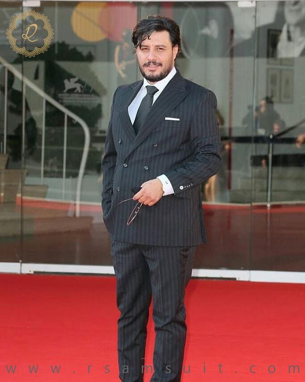 جواد عزتی در جشنواره ونیز - سرای پادشاهان آرسام