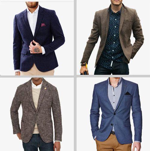 انواع کت تک مردانه - آرسام