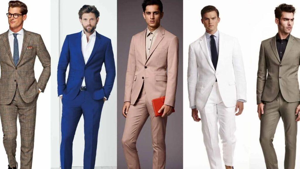 رنگ های مناسب کت و شلوار تابستانی