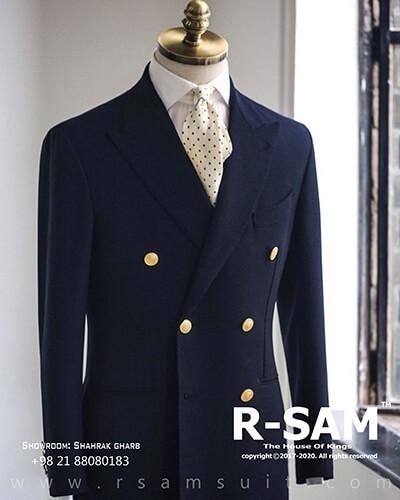 نمونه کت شلوار دامادی شماره 6