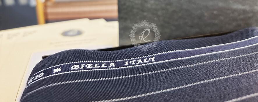 نمونه از پارچه ایتالیایی برند BIELLA