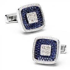 استفاده از جواهرات در ساخت دکمه سردست