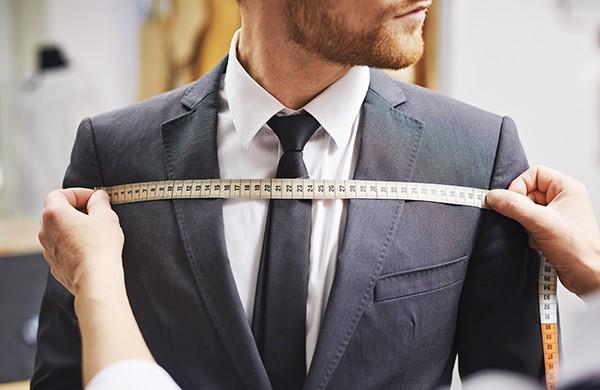 اندازه گیری کت شلوار