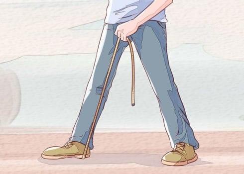 اندازه گیری قد شلوار