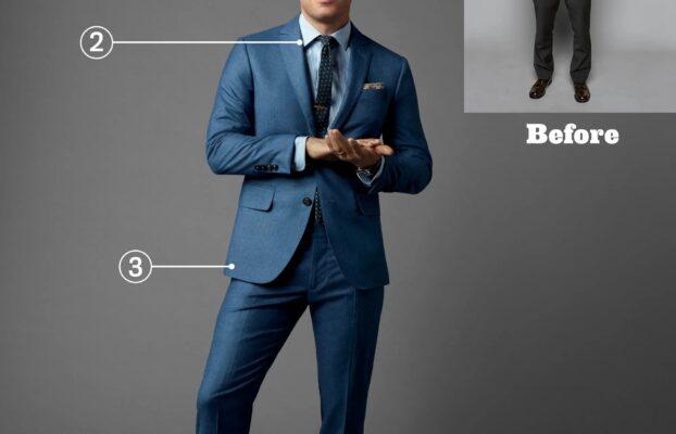 چه کت شلواری مناسب مردان قد کوتاه است؟